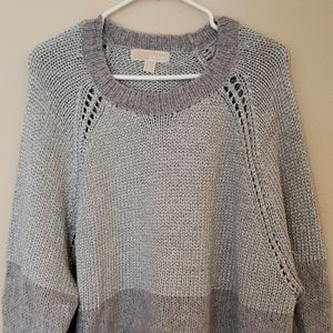 Michael Kors Sweaters - MICHAEL KORS Metallic Shimmer Sweater XL